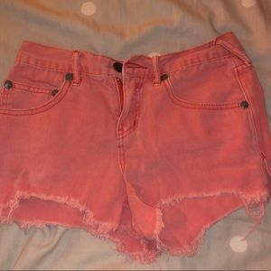 Free People shorts ✨✨